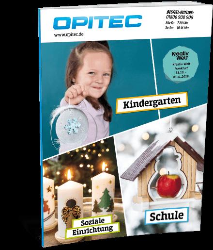 Opitec Weihnachtsprospekt für Schulen, Kindergärten & soziale Einrichtungen